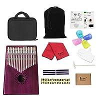 Fityle カリンバ 親指ピアノ 17キー アフリカ楽器 ハンドパーカッション 全4スタイル - スタイル3