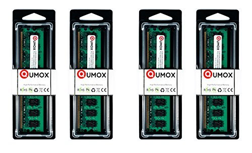 QUMOX 8GB(4X 2GB) DDR2 800MHz PC2-6400 PC2-6300 DDR2 800 8 GB (240 PIN) DIMM Desktop Memory