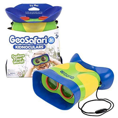 Learning Resources GeoSafari Jr. Kidnoculars - Compact Shock Proof First...