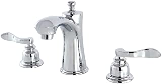 Kingston Brass KB7961NFL Nuwave French Widespread Lavatory Faucet, Polished Chrome