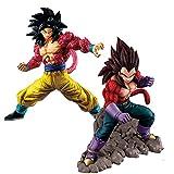 2 Pièces 15/20 Cm Dragon Ball Z Son Goku Végéta Anime Col