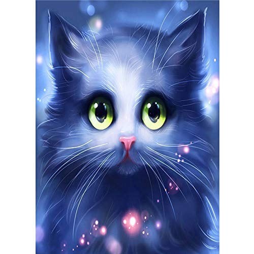 LWCOTTAGE 5D FAI Da Te Diamante Pittura,5D DIY Diamond Painting Cross Ctitch Kits Diamond Mosaic Embroidery Cartoons Animals Plant 3D Painting Square Drill Gift,8,30X45Cm Square Drill