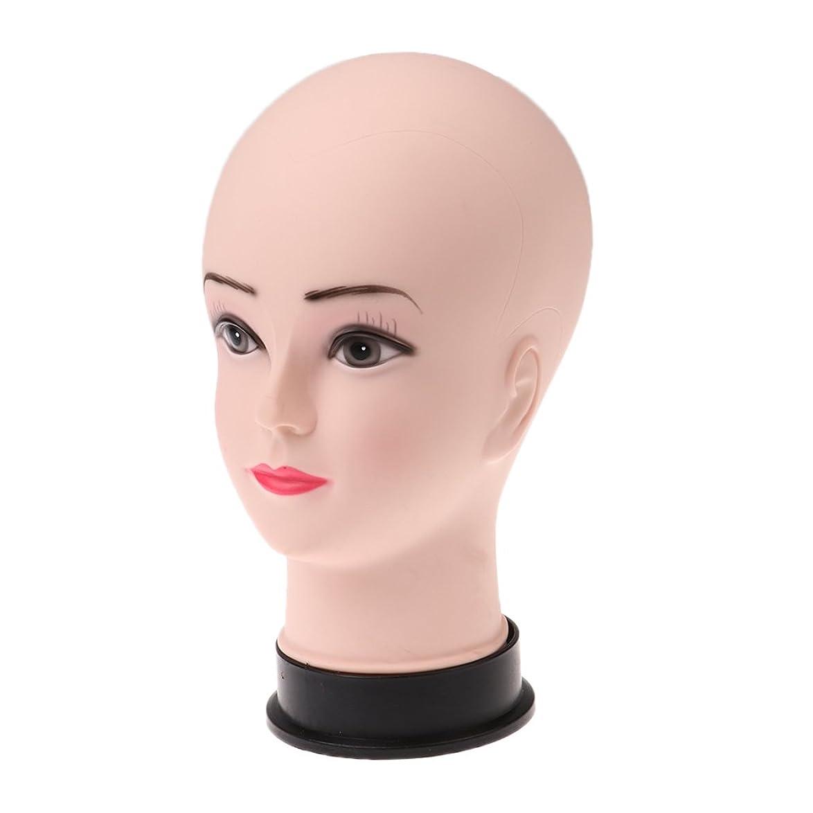 同行援助交差点10.5インチ女性マネキン発泡スチロールPVCヘッドモデルかつら帽子ディス
