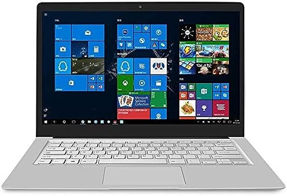 Netbook PC EZBook S4 Laptop 14 0 Zoll GB 256 GB Windows 10 Intel Gemini Lake N4100 Quad Core bis 1 1-2 4 GHz TF-Karte Bluetooth Dualband-WLAN und Mini-HDMI Twilight Silver Schätzpreis : 612,53 €