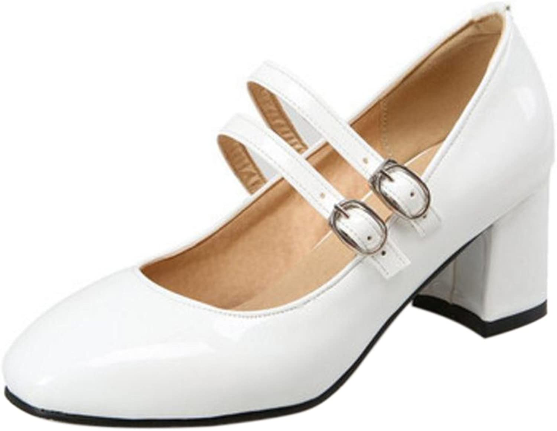 TAOFFEN Women's Mary Jane shoes