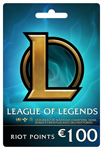 League of Legends €100 Carte-cadeau prépayée (15000 Riot Points)