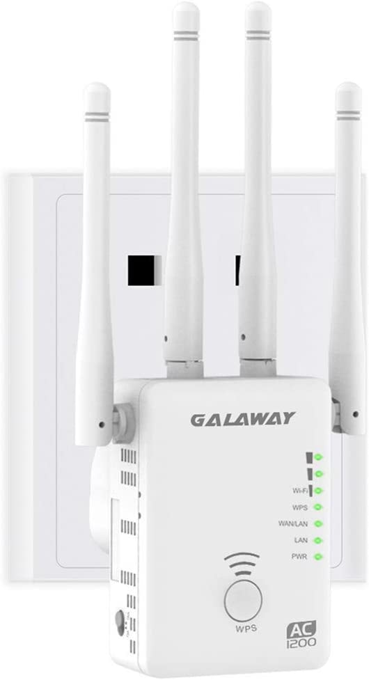 GALAWAY 300Mbps WiFi Extender 2.4GHz AC Repeater Mini Max 58% OFF Wholesale Amplifier