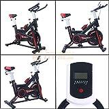 AERO SPIN 6 - Spinning bike con volano da 6 kg | Bicicletta per allenamento a casa dimagra...