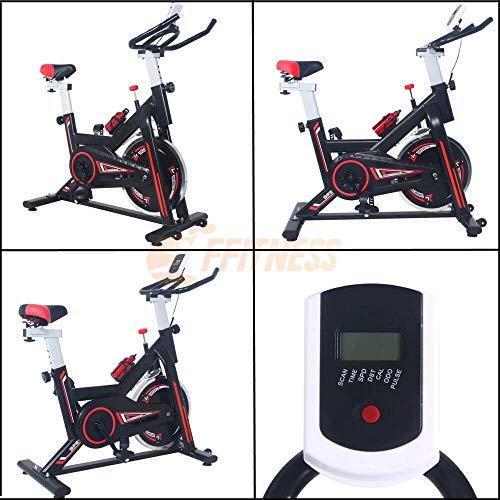 AERO SPIN 6 - Spinning bike con volano da 6 kg | Bicicletta per allenamento a casa dimagrante, forza, resistenza | Il Fitness a casa