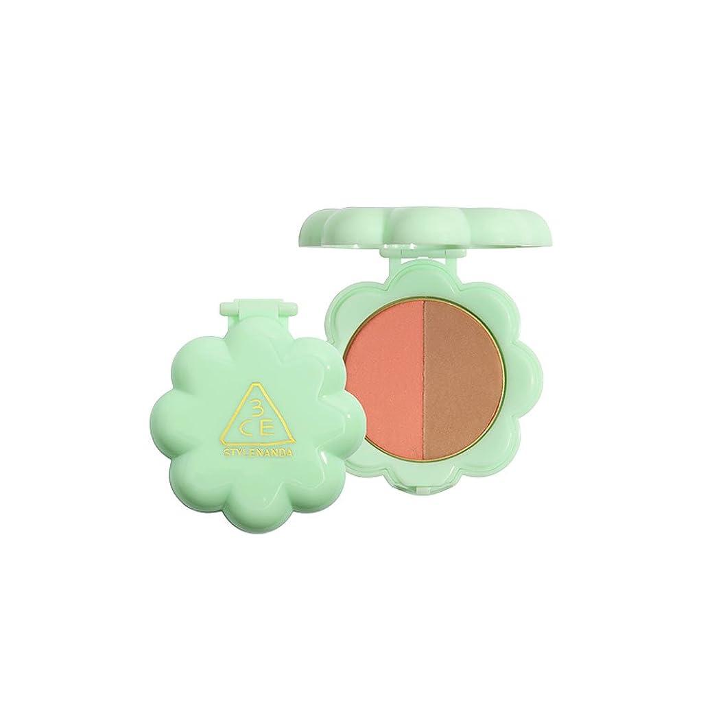 なかなか鎮静剤ランチLOVE 3CE Duo Shadow, 韓国化粧品アイカラーメイクアップ, 3.2g - LUCKY SEVENTH [並行輸入品]