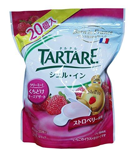 TARTARE(タルタル) シェル・イン チーズ(ストロベリー風味) 400g(20g×20個) フランス産 【冷蔵品】