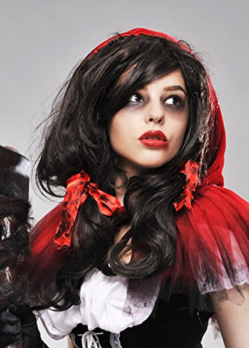 Magic Box Wombie Zombie Luxe Red Riding Hood Perruque