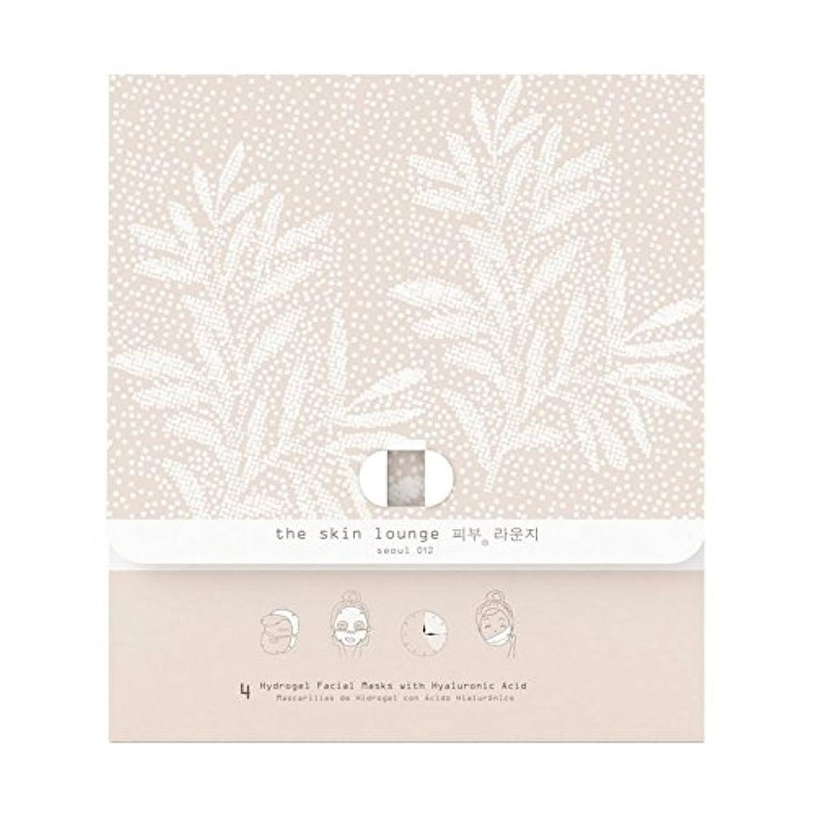 チューリップベースエラーThe Skin Lounge Hydrogel HA Pack of 4 - 4の皮膚ラウンジヒドロゲルヘクタールパック [並行輸入品]