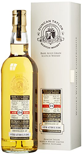 Strathclyde 24 Years Old Duncan Taylor Rare Auld Grain Scotch Whisky mit Geschenkverpackung (1 x 0.7 l)