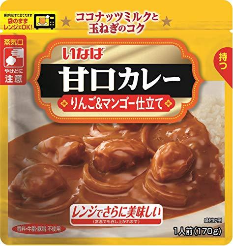 いなば食品 いなば 甘口カレー(パウチ) 170g 2個