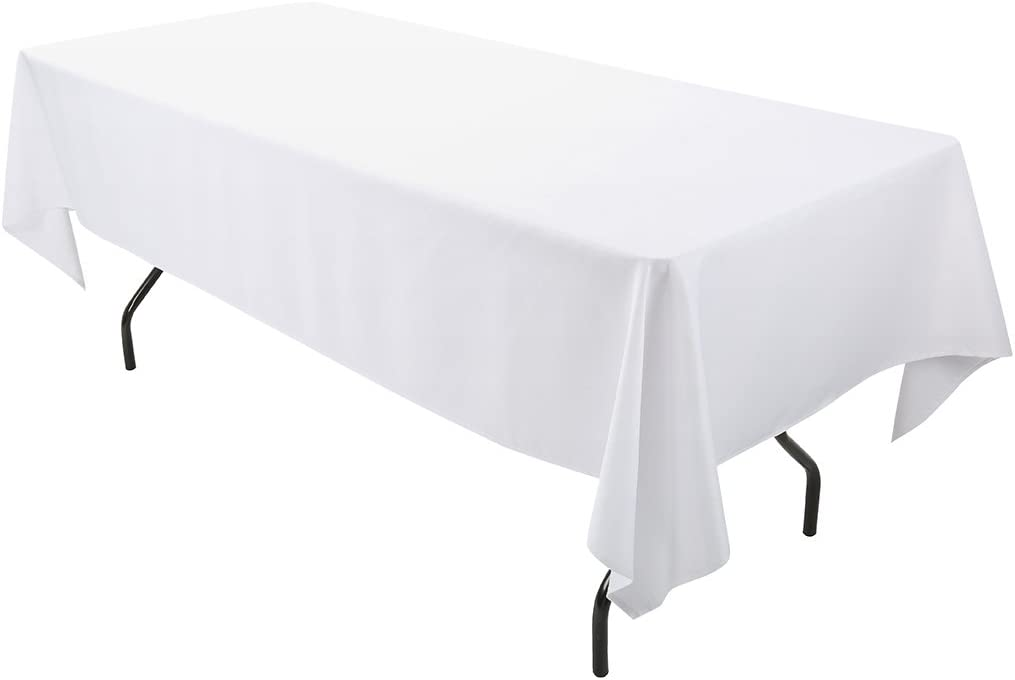 E-TEX 60 New Free Shipping x Today's only 102-Inch Rectangular Tablecloth Polyester Washa 100%
