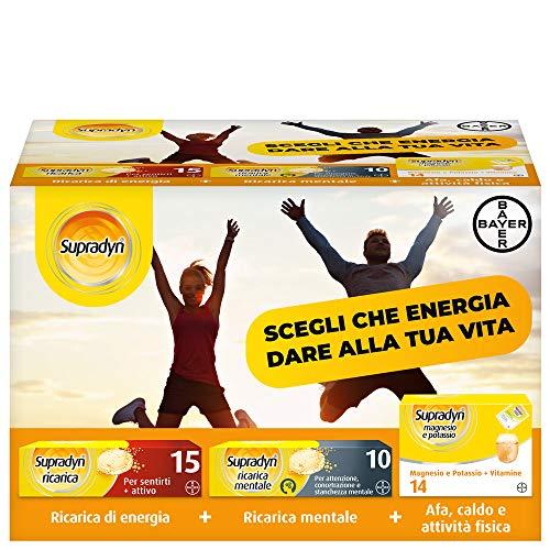 Supradyn Kit Supradyn Ricarica Integratore Multivitaminico, con Vitamina C, Vitamina D, Magnesio e Potassio - 200 ml
