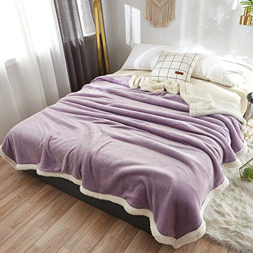 RTRHGDFFGFJHGDDTRHGHUG Klein deken kantoor verdikt dutje deken student slaapzaal stapelbed deken (120x200CM)