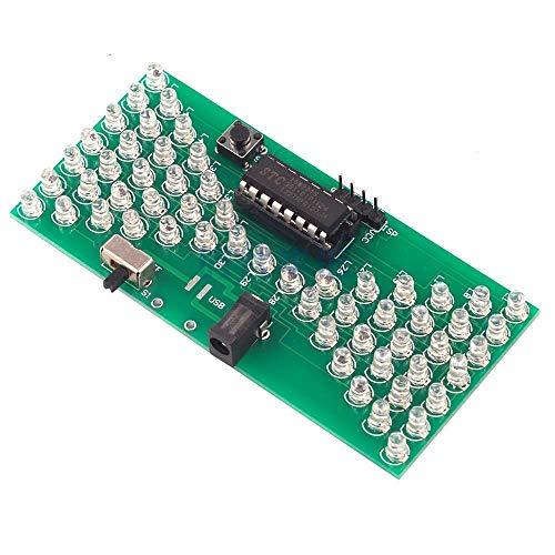 ZSYUN Elektronische Sanduhr Interessante Elektronische Produktion Suite Von SCM Lehrfähigkeiten Test LED-Leuchten DIY Teile Spot Steuermodul