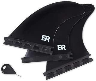 Eisbach Riders - Future Surfboard Thruster Fin Set with Fin Key - Quillas para Tablas de Surf - Size Medium