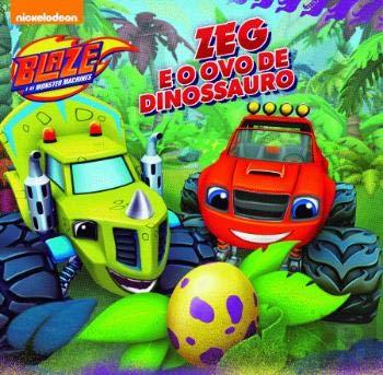 Flexibound Blaze e as Monster Machines: Zeg e o Ovo dos Dinossauros (Portuguese Edition) [Portuguese] Book