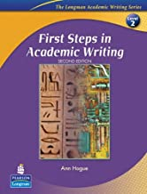 Best first steps in academic writing Reviews