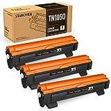 STAROVER 3 Cartucce Toner NERO Compatibili Sostituzione per TN1050 TN-1050 per Brother HL-1110 DCP-1510 HL-1210W DCP-1610W HL-1112 MFC-1810 HL-1212W MFC-1910W DCP-1612W DCP-1512