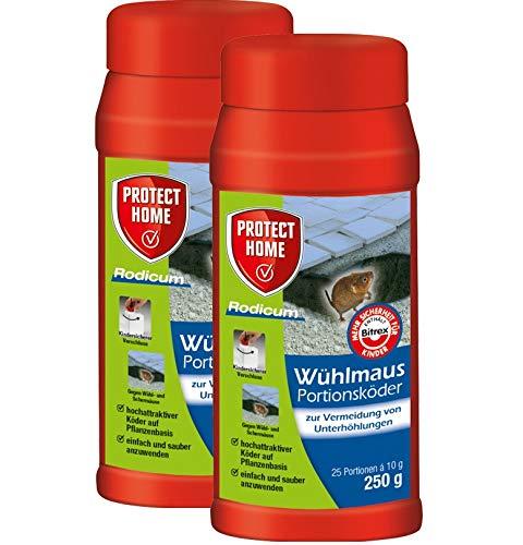 Protect Home Wühlmaus Portionsköder Rodicum 500 g
