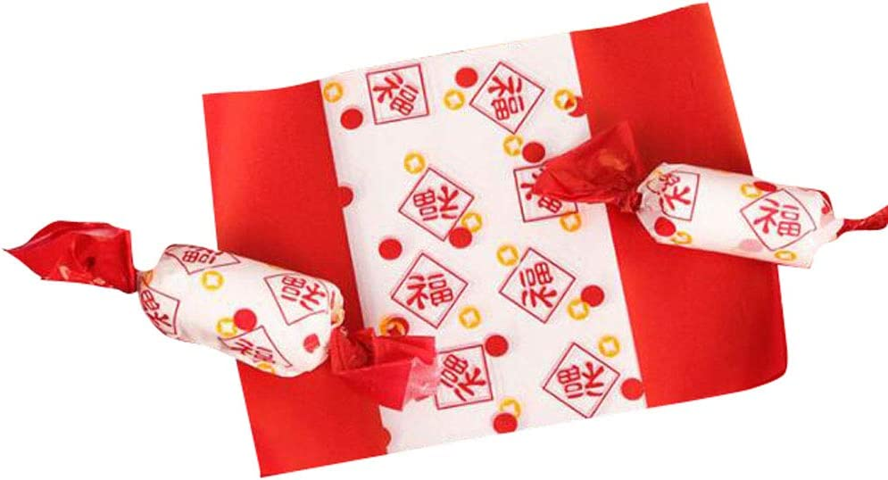 Kungfu Alien OFFicial DIY Candy Wrappers Max 60% OFF Paper Fe Wrapping Chinese Spring