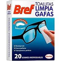 Bref Toallitas Limpia Gafas - 20 Piezas