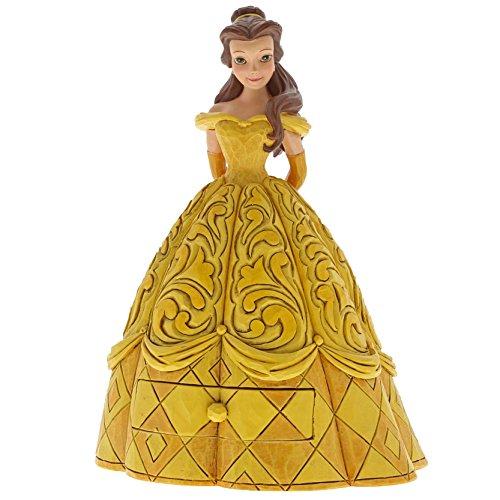 Disney Traditions Tradition A29503 Cassetta Porta Gioielli Belle, Multicolore, Multicolour, Taglia Unica
