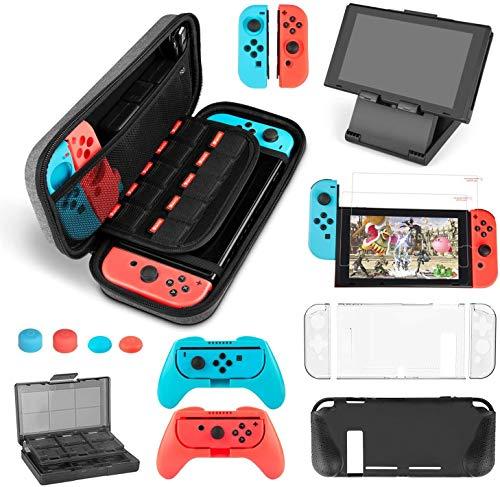 Uiter Kit Accesorios para Nintendo Switch - Funda con patrón de Hormiga...