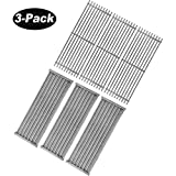 BBQ Future 3 Pack Grill Grate and Emitter Replacement Parts for Char-Broil Commercial, Signature, or Professional Series TRU-Infrared Gas Grills