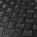 1m² Riffelblechmatte 1,40m x 0,72m   Stärke: 3mm   Premium Gummimatte