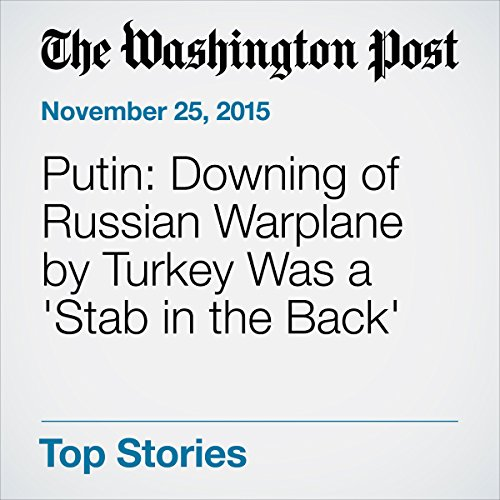 Putin: Downing of Russian Warplane by Turkey Was a 'Stab in the Back' cover art