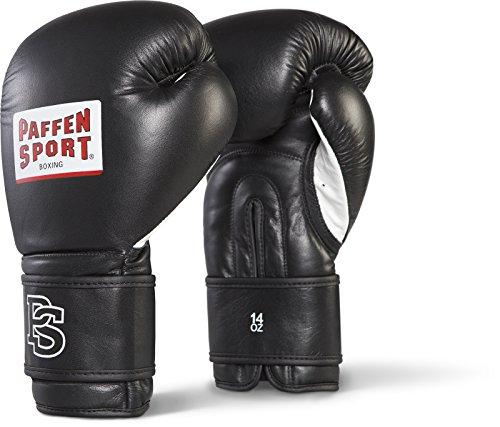 Paffen Sport Star III Boxhandschuhe für das Sparring; schwarz; 14UZ