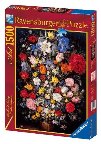 Ravensburger Brueghel Vase Of Flowers Flowers Puzzle (1500 Pieces)