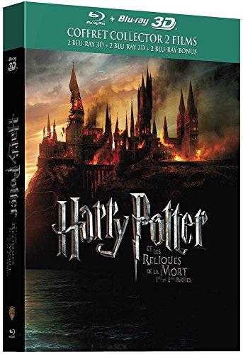 Harry Potter et les Reliques de la Mort - 1ère et 2ème partie - Année 7 - Le monde des Sorciers de J.K. Rowling - Blu-ray 3D [Édition Collector]