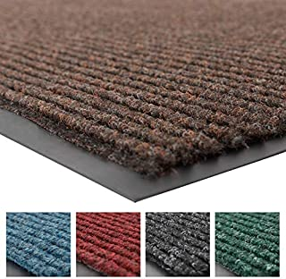 Notrax 109 Brush Step Entrance Mat, 3\' X 10\' Brown