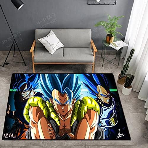 Alfombra de puerta de dragón, tapete antideslizante para dormitorio, diseño de dibujos animados