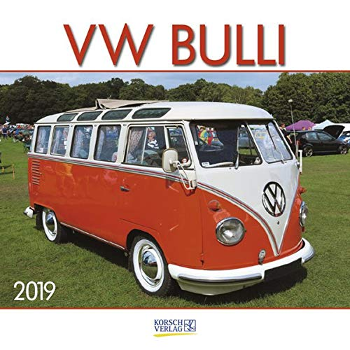 VW Bulli (BK) 226419 2019: Broschürenkalender mit Ferienterminen. Wandkalender als Hommage. 30 x 30 cm