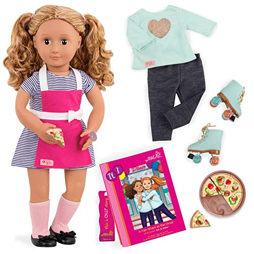 """Our Generation Dolls Isa 18"""" Deluxe Doll Book"""