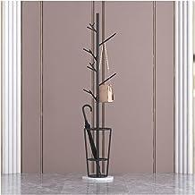 Coat Rack Metal Coat Stand, 7 Hooks Heavy Duty Coat Rack Hanger Hall Umbrella Holder Hooks Office Entryway Coat Stand (Col...