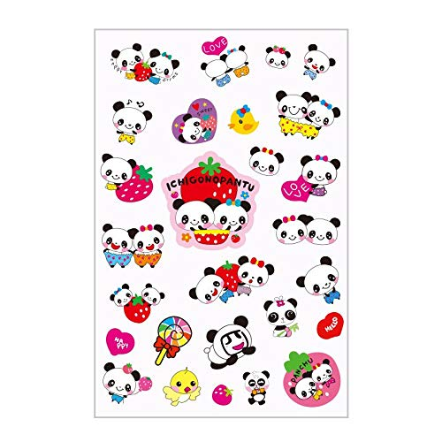1 Sheet Panda Toy Sticker Mixture Stickers Doodling Travel DIY Stickers On The Car Motorcycle Luggage Laptop Bike Scooter
