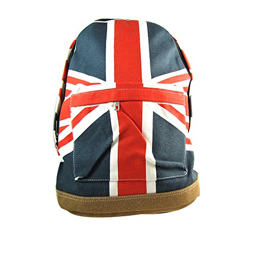 Royaume-Uni Union Jack drapeau britannique de style sac à dos épaule School Book Bag New