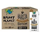 Happy Planet - OatMilk Barista Edition | Gluten Free Plant Based Beverage | Dairy Free Creamer | Vegan Friendly | Nut Free | Soy Free | Shelf Stable (Barista, 32 FL OZ. (Pack of 12))