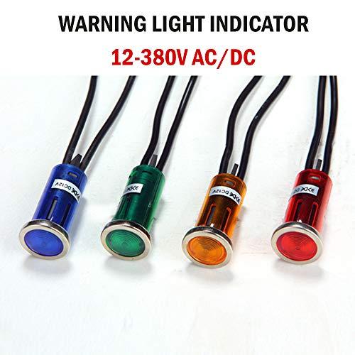 Signallampe Meldeleuchte 12.5 mm Signalleuchte KFZ Kontrollleuchte 12-380V