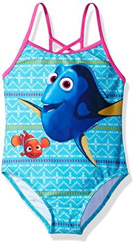 Disney Mädchen Findet Dorie Badeanzug - Blau - 6X