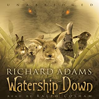 Watership Down audiobook cover art