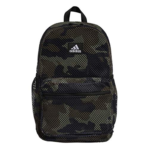 adidas Hermosa II Mesh Backpack, Core Camo/ Black, OSFA